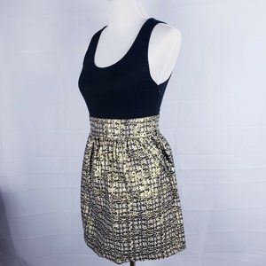 Forever 21 A-Line Shiny Party Wedding Silver Dress
